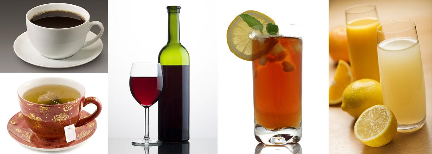 acidic beverages